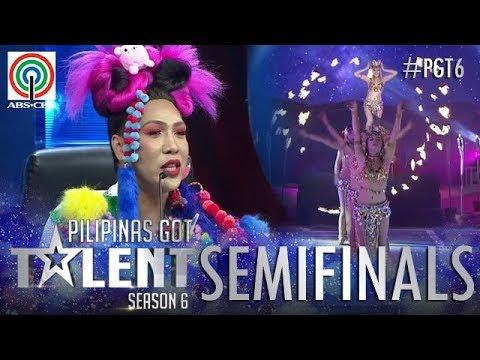 Pilipinas Got Talent 2018 Semifinals: Angel Fire New Gen - Belly Dancing