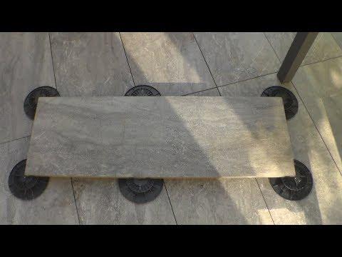 comment faire une terrasse pose sur plots, how to make a terrace poses on studs