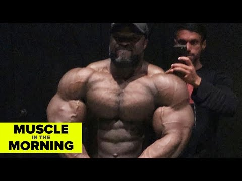 BRANDON CURRY 8 WEEKS OUT! Muscle in the Morning (7/20/18)