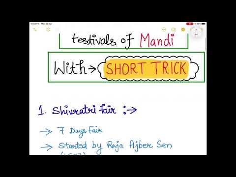 Fair and Festivals Of  MANDI District Of Himachal Pradesh || SHORT TRICKS || Teaching Talks