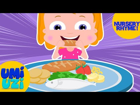 Umi Uzi | I Like To Eat My Meals | I Always Eat My Meals | Food Songs | Kids Songs For Children