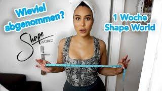 1 Woche Shape World Diät... Was hat sich verändert? | Stephie Tilak