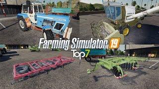 TOP7 NAJLEPSZYCH MODYFIKACJI TYGODNIA Farming Simulator 19 | NetNar