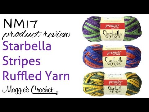 Starbella Stripes Ruffled Yarn Product Review