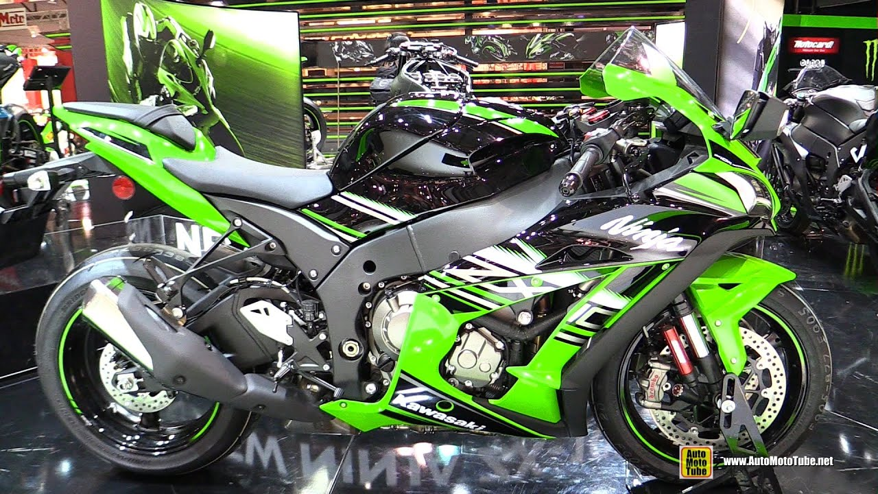 2016 kawasaki ninja zx10r krt - walkaround - debut at 2015 eicma