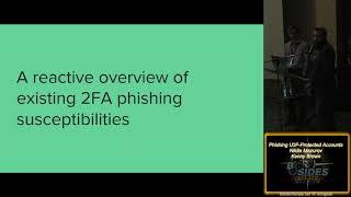 E 03 Phishing U2F Protected Accounts Nikita Mazurov Kenny Brown