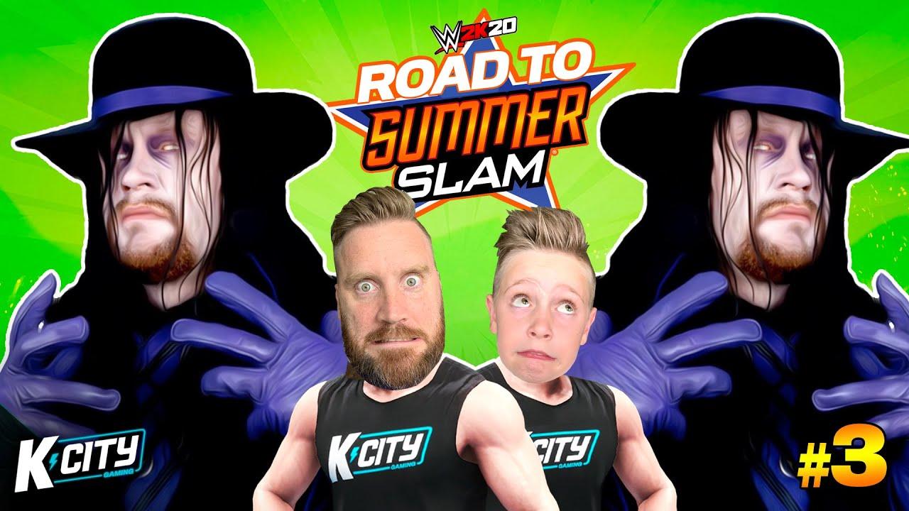 UNDERTAKER UNDERTAKER! Road to SummerSlam in WWE 2k20 Level 3! K-CITY GAMING