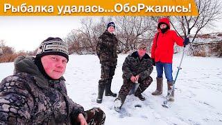 Первая моя зимняя рыбалка в жизни Рыбачим на реке Проня