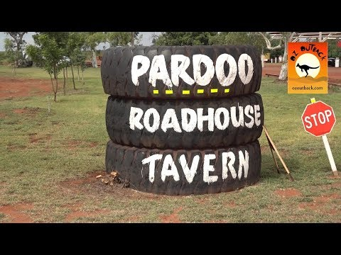 Pardoo Roadhouse truck stop - 150km north of Port Hedland, remote outback Western Australia