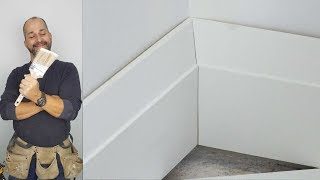 How To Install Large Profile  Wood  Baseboards