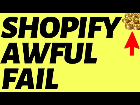 Shopify EXPOSED (Get Rich Quick Scheme?) thumbnail