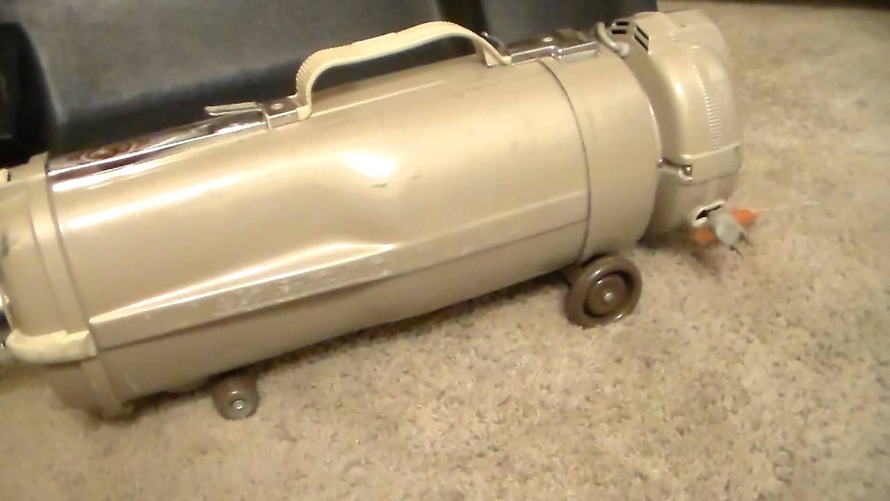 1967 Electrolux Model L Vacuum Cleaner Youtube