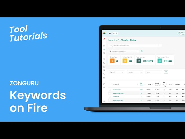 Crush Your Listing Optimization and Product Research in 2020! 🔥Keywords on Fire
