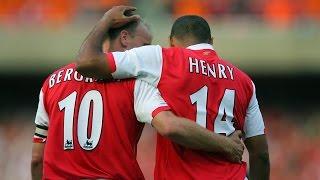Thierry Henry and Dennıs Bergkamp ARSENAL legends ♥