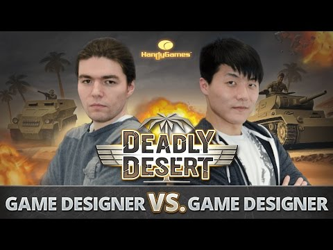 1 Device 2 Enemies ★ War of the Game Designer ★ 1943 Deadly Desert