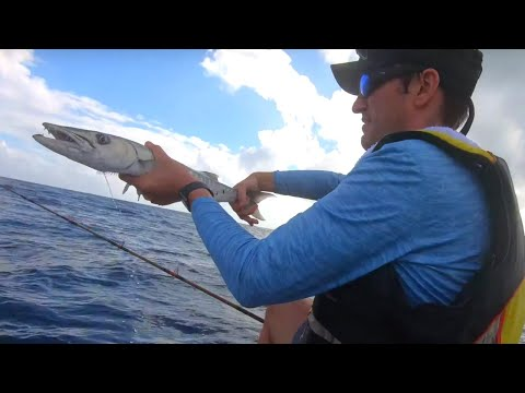 3ft Waves Jet Ski Fishing On A REEF & WRECK  I Florida Fishing | Speed Jigging And Bottom Rig