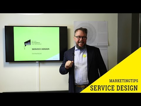 Problemen oplossen met Service Design | Marketingtips met Peter