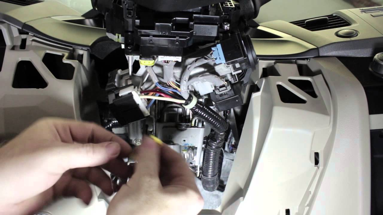 Remote Start Installation By Mypushcartcom Youtube Mitsubishi Mirage Engine Diagram Starter Section