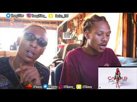Cardi B Ft. Kodak Black - Bodak Yellow (Reaction Video)