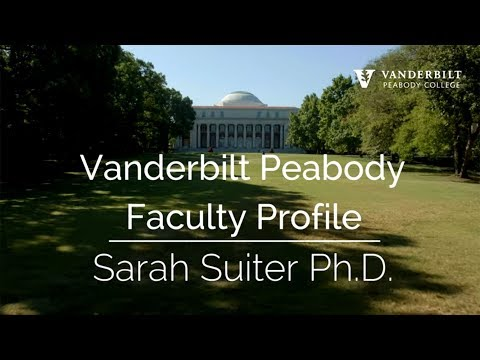 Vanderbilt Peabody Faculty Profile: Sarah Suiter