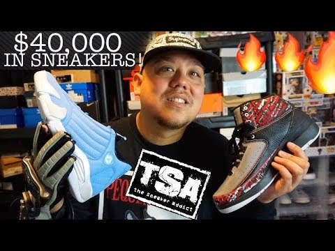 Dj Delz $40,000.00 Sneaker Addict Collection - MUST SEE #Sneakerhead Collector