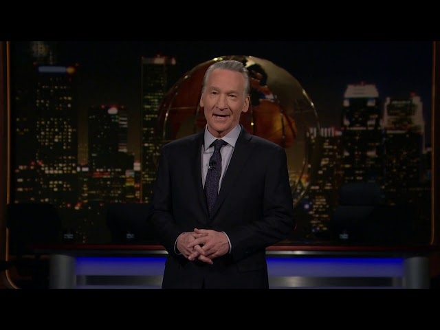 Monologue: The Flus Will Not Replace Us! | Real Time with Bill Maher (HBO)