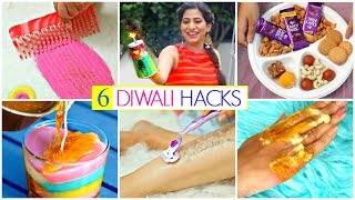 6 DIWALI Life HACKS You Must Try | #Skincare #Beauty #Festival #Anaysa