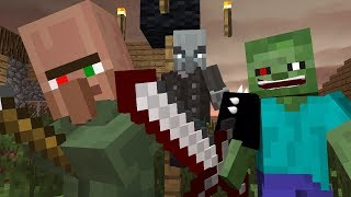 Zombie vs Villager Life 1 - Minecraft Animation