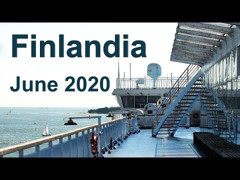 Helsinki - Tallinn: On board MS Finlandia - June 2020