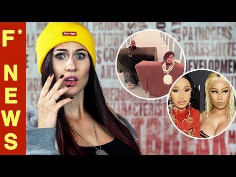 F* News - Новое видео Kanye  West | Nicki Minaj vs Cardi B | Eminem - Kamikaze