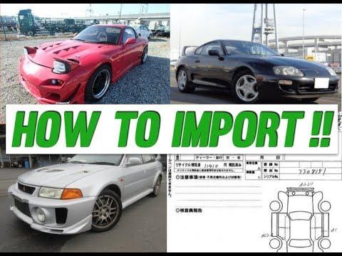 How To Import a Car From Japan! (EXPLAINED)