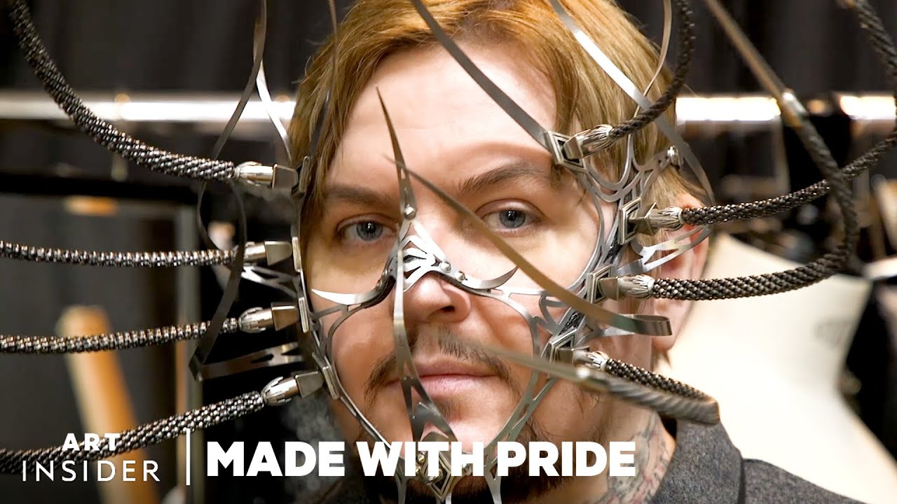 How These $2,000 Masks Are Made For Celebrities | Made With Pride