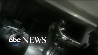 Bodycam footage of Las Vegas shooter's hotel suite released by police