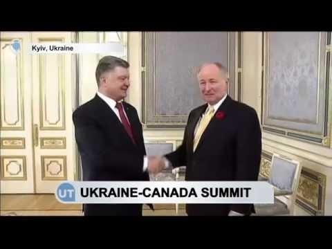 Ukraine-Canada Summit: Ukraine's Poroshenko meets Canadian Foreign Minister Nicholson