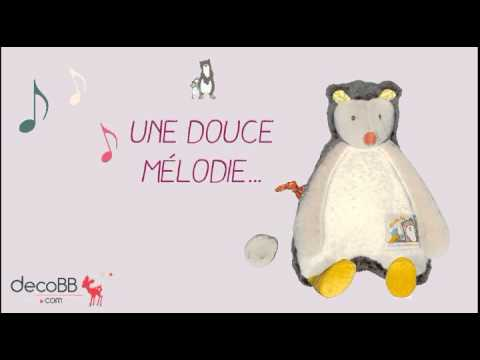 Doudou Musical Galipette - Biscotte & Pompom - Moulin Roty - decobb.com