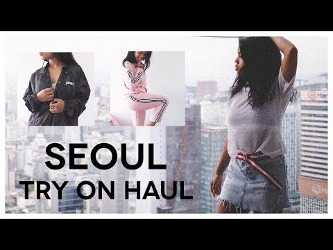 TRY ON HAUL | Made in SEOUL