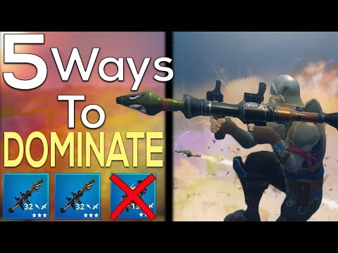 5  EASY Ways to DOMINATE the NEW 'HIGH EXPLOSIVES' Gamemode GUIDE - Fortnite Battle Royale
