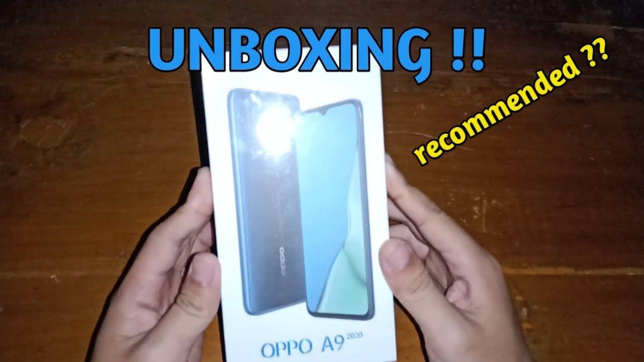 UNBOXING HANDPHONE TERBARU OPPO A9 2020 ! - YouTube