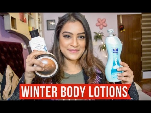 My 5 Favourite Body Lotions For Winters | Aarushi Jain
