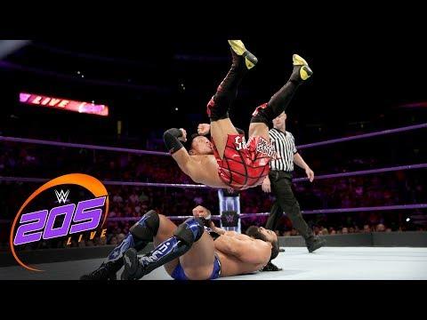 Akira Tozawa vs. Tony Nese: WWE 205 Live, Sept. 26, 2017