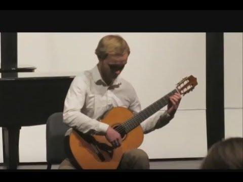 Cadenza from Concierto del Sur performed by Andy Manka