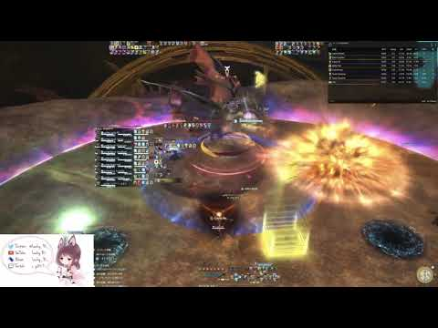 FFXIV絶バハムート討滅戦 ツインタニア 学者 The Unending Coil of Bahamut (Ultimate) Phase 1 sch