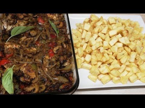fricassÉ-de-poulet-trÈs-trÈs-facile-(cuisine-rapide)