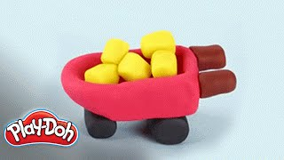 Play-doh U.s. | Look What I Made | How To Make A Wheelbarrow Tutorial