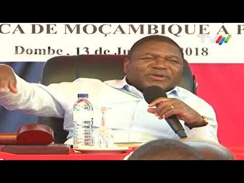 Visita Presidencial a Manica: Filipe Nyusi satisfeito com níveis de produção agrícola em Sussundenga