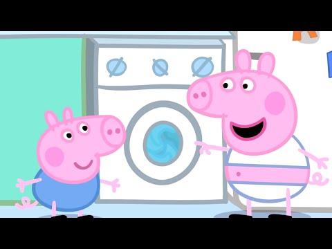 Peppa Pig Français | Peppa Pig La Lessive | Dessin Animé