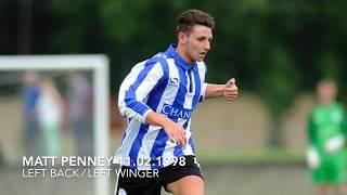 Matt Penney - Sheffield Wednesday U-23's (goal collection)