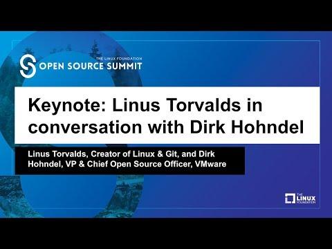 Keynote: Linus Torvalds, Creator of Linux & Git, in conversation with Dirk Hohndel, VP