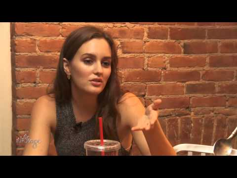 Water and... Ice Cream? Leighton Meester Reveals Her Beauty Secrets
