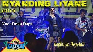 Download lagu NYANDING LIYANE ( LILO ) - DESTA DAYU - OM KALIMBA MUSIK - LIVE KETAON BANYUDONO BOYOLALI
